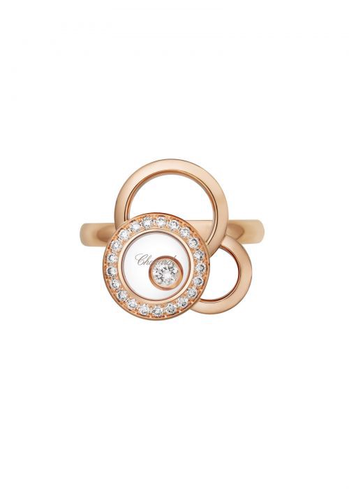 Chopard Happy Dreams Ring Rose Gold and Diamond