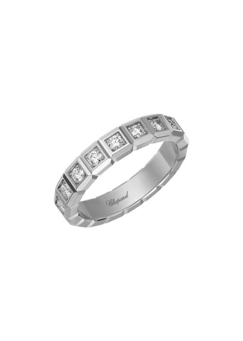 Chopard Ice Cube Ring White Gold and Diamond