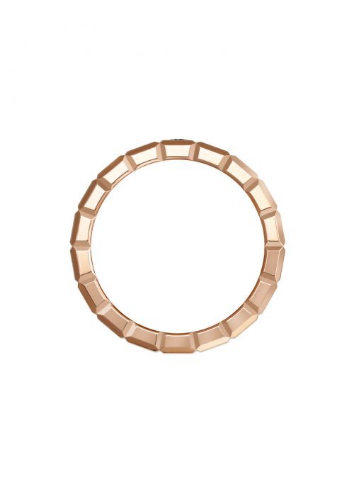 Chopard Ice Cube Ring Rose Gold and Diamond