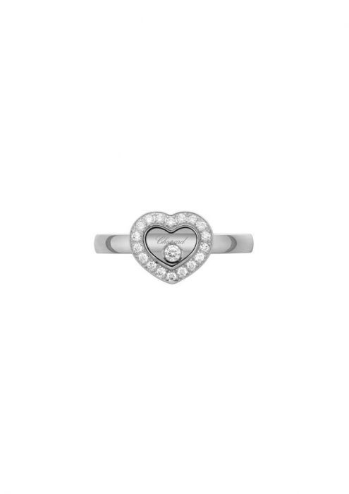 Chopard Happy Diamonds Icons Ring White Gold and Diamond