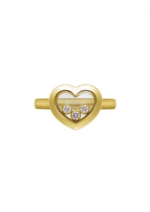 Chopard Happy Diamonds Icons Ring Yellow Gold and Diamond