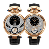 Bovet Fleurier Complications Virtuoso V Rose Gold Black Dial