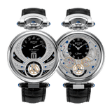 Bovet Fleurier Complications Virtuoso V White Gold Black Dial