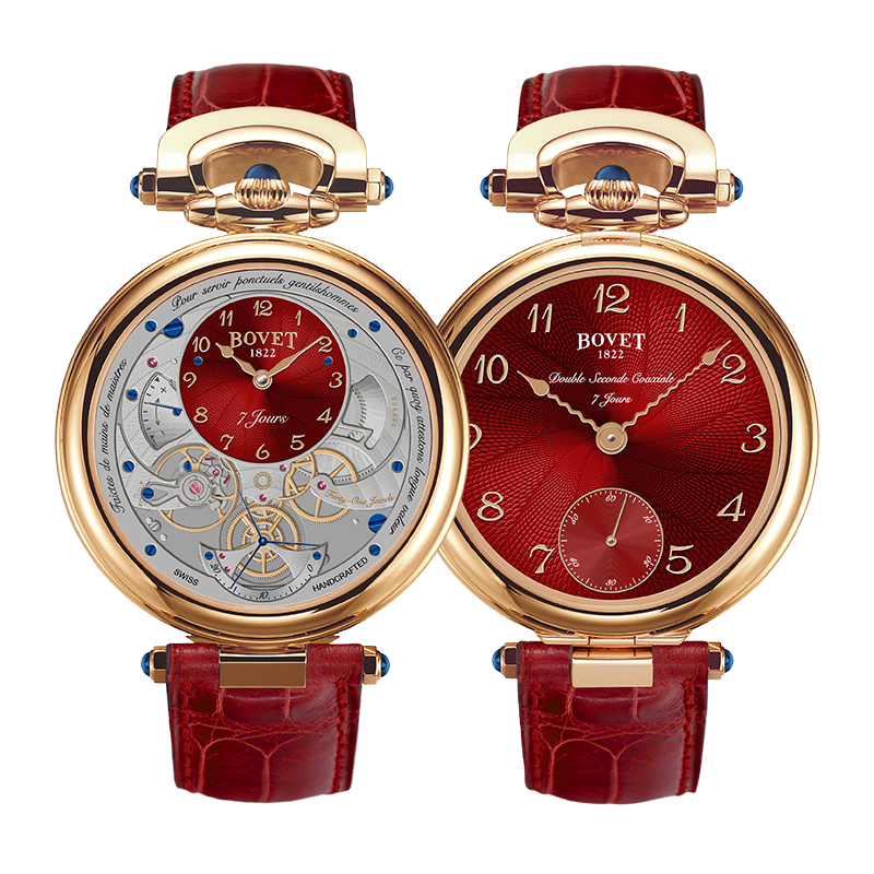 Bovet Amadeo® Fleurier Complications Monsieur BOVET AI43027 43mm