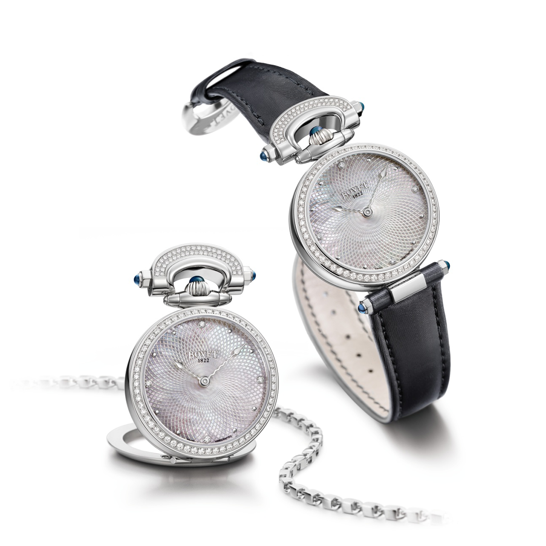 Bovet Amadeo Fleurier Miss Audrey White Pearl 36mm