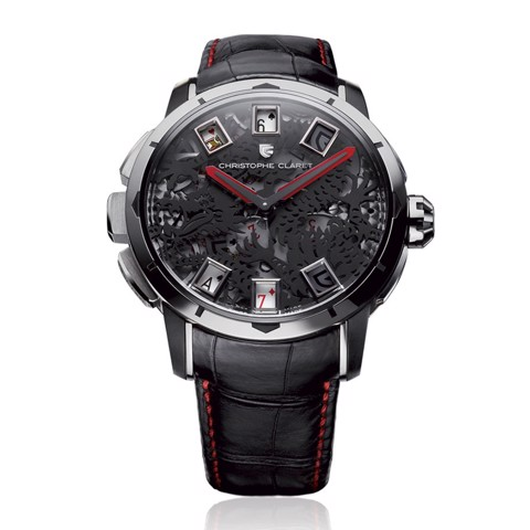 Christophe Claret Baccara Dragon White Gold