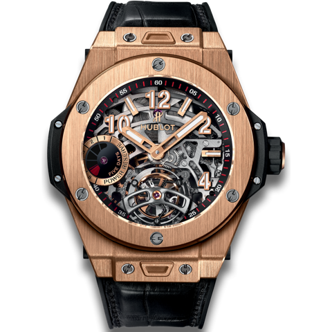 Hublot Big Bang Tourbillon Power Reserve 5 days King Gold 45mm