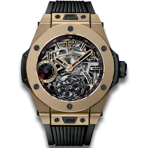 Hublot Big Bang Tourbillon Power Reserve 5 days Magic Gold 45mm