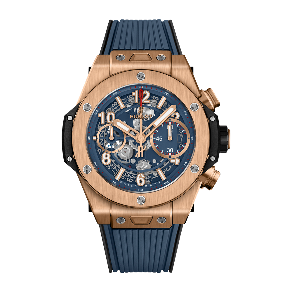 Hublot Big Bang Unico King Gold Blue 42mm
