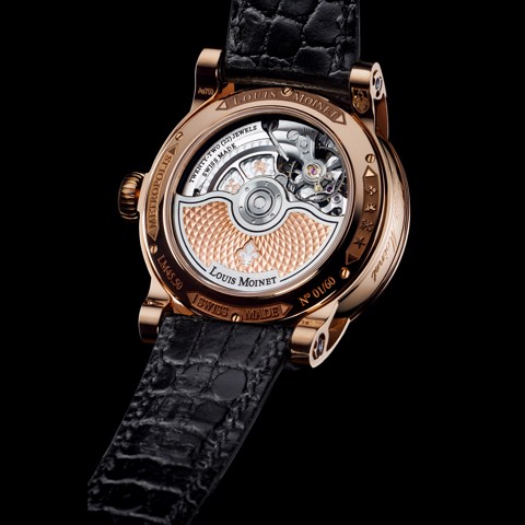 Đồng hồ nam Louis Moinet Metropolis Rose Gold White Indexes 43.2mm