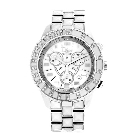 Đồng hồ nữ Dior Christal Chronograph Set with Diamonds Ø 38mm