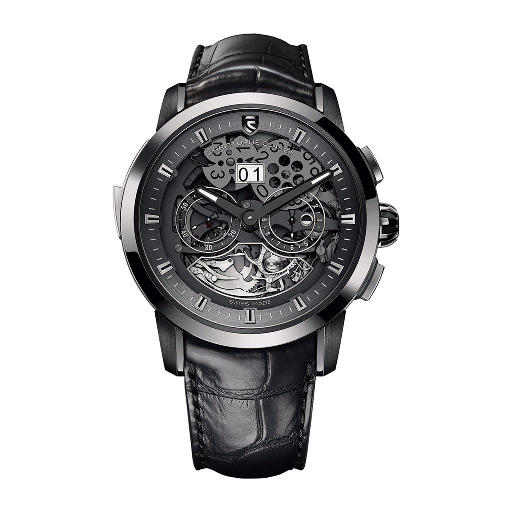 Christophe Claret Allegro Minute Repeater GMT Big Date White Gold