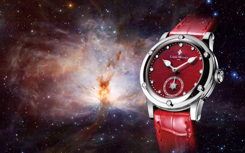 Đồng hồ nữ Louis Moinet Skydance Magic Red 36mm