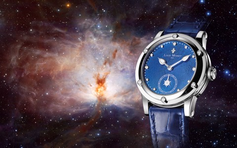 Đồng hồ nữ Louis Moinet Skydance Magic Blue 36mm