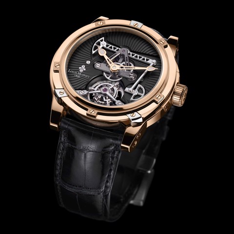 Đồng hồ nam Louis Moinet Derrick Tourbillon Rose Gold 47mm