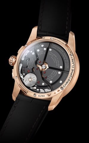 Christophe Claret Maestro Rose Gold Baguette-diamonds