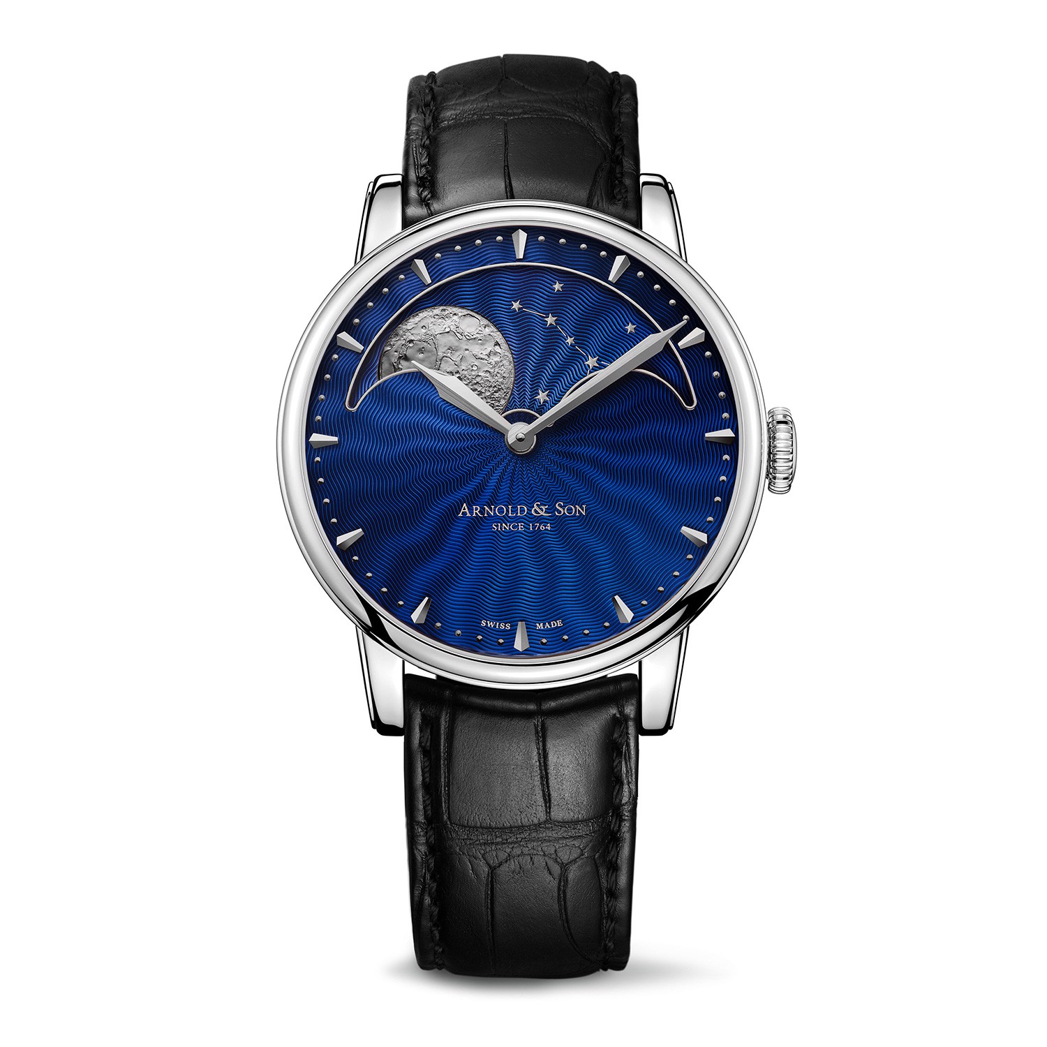 Arnold & Son Royal HM Perpetual Moon Steel Blue Dial