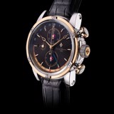 Đồng hồ nam Louis Moinet Geograph Steel & 18k Gold Black Dial 46.5mm