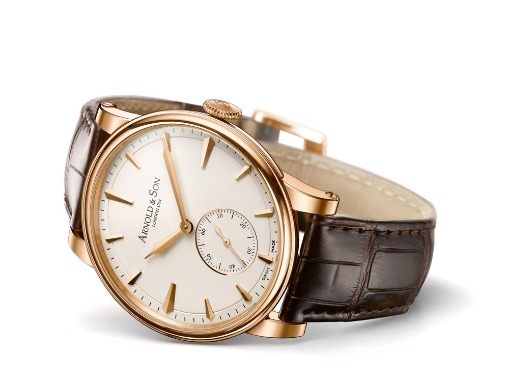 Arnold & Son Royal HMS1 Rose Gold Cream Dial