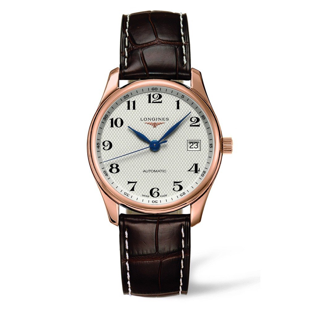 Đồng hồ nam Longines Master Collection 18k Rose Gold Watch 36mm