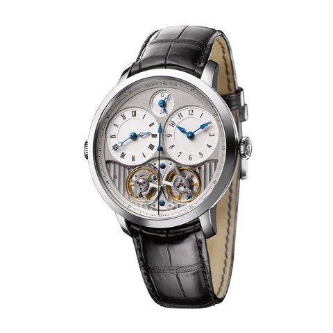 Arnold & Son Instrument DBG Equation GMT Stainless Steel