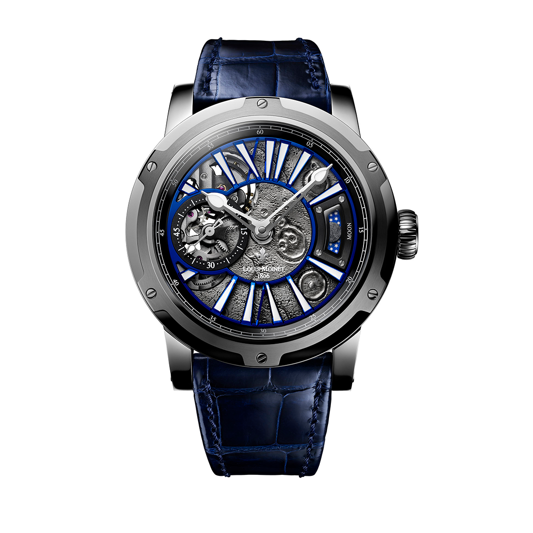 Louis Moinet Moon Steel Limited Edition 43mm