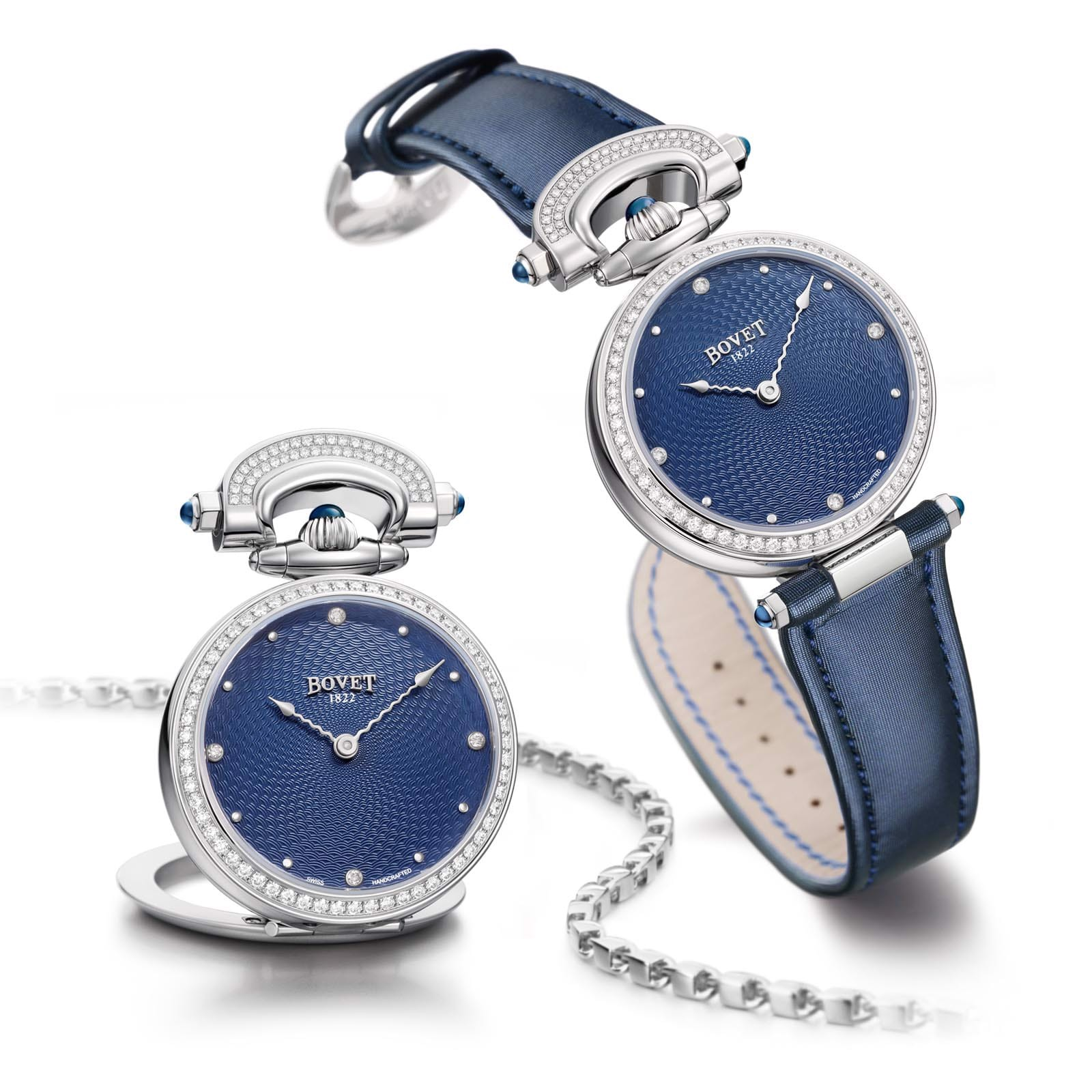 Bovet Amadeo Fleurier Miss Audrey Blue 36mm