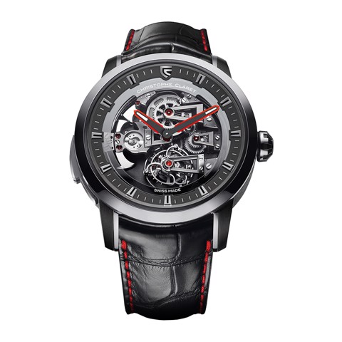 Christophe Claret Soprano Tourbillon Minute Repeater White Gold Red
