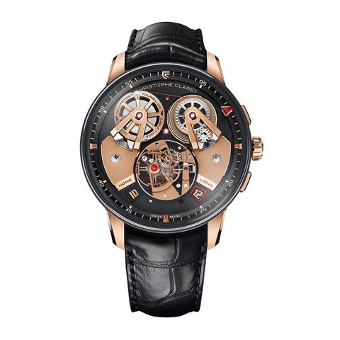 Christophe Claret Angelico Tourbillon GMT Rose Gold