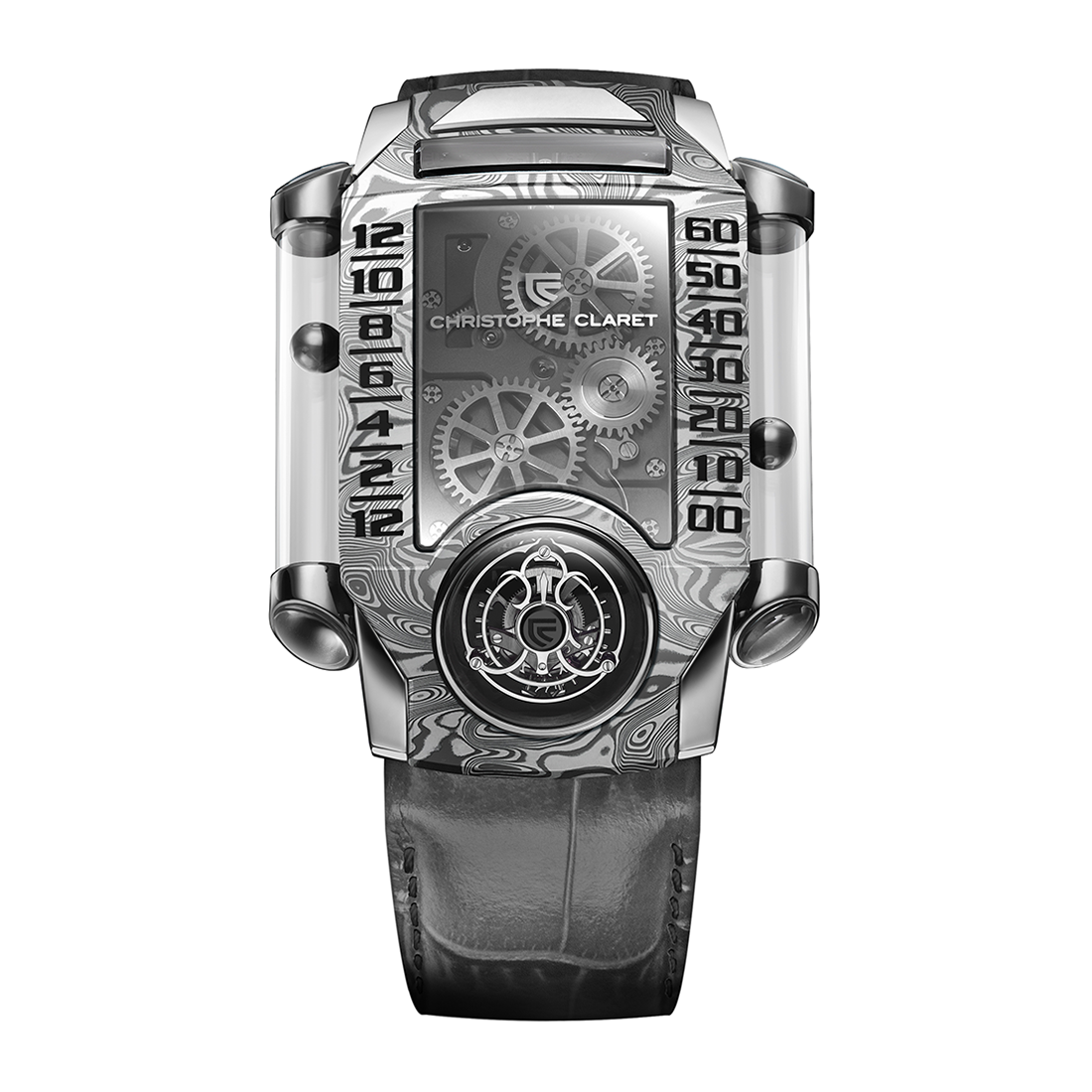 Christophe Claret X-Trem-1 White Gold & Damascus Steel