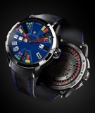Christophe Claret Blue Poker Texas Hold'em Titanium