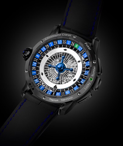 Christophe Claret Poker Texas Hold'em Black Titanium