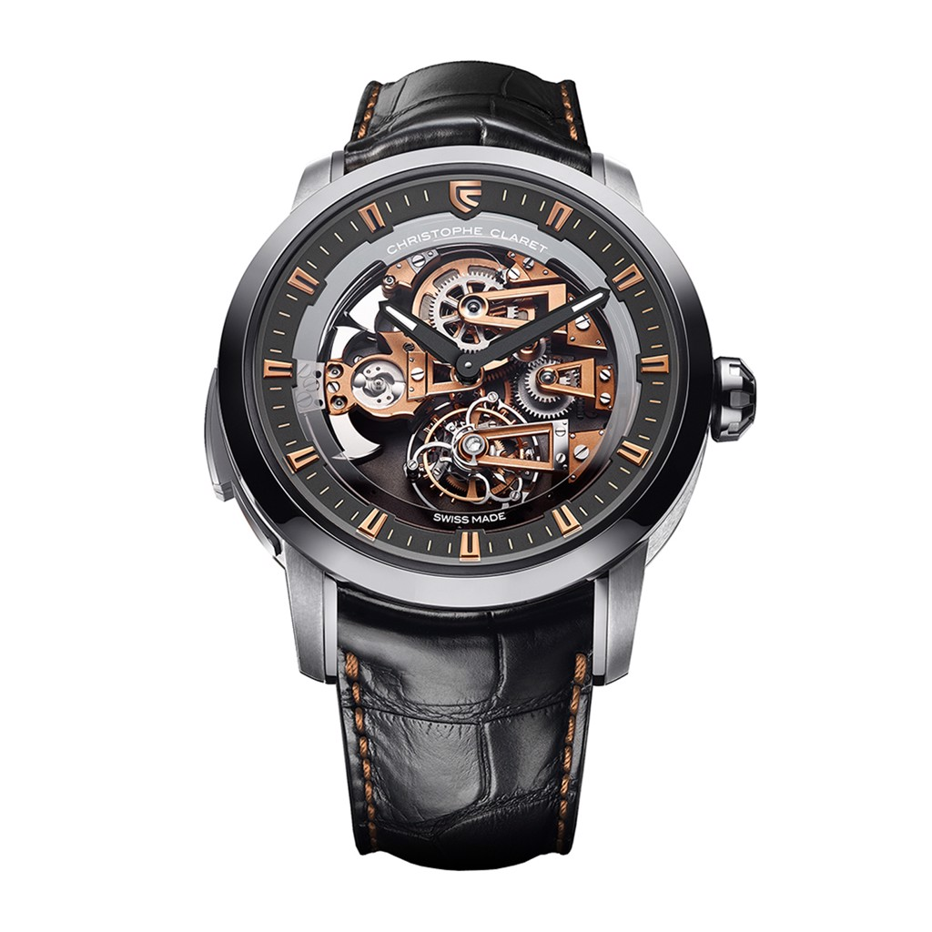 Christophe Claret Soprano Tourbillon Minute Repeater White Gold