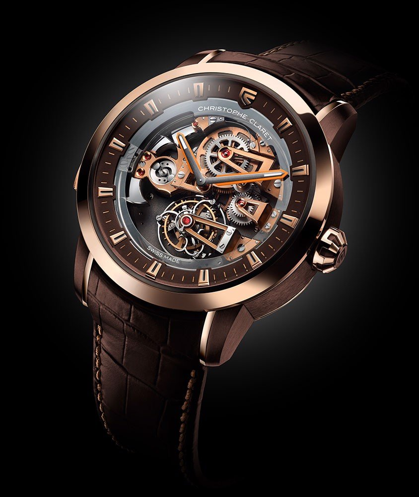 Christophe Claret Soprano Tourbillon Minute Repeater Rose Gold