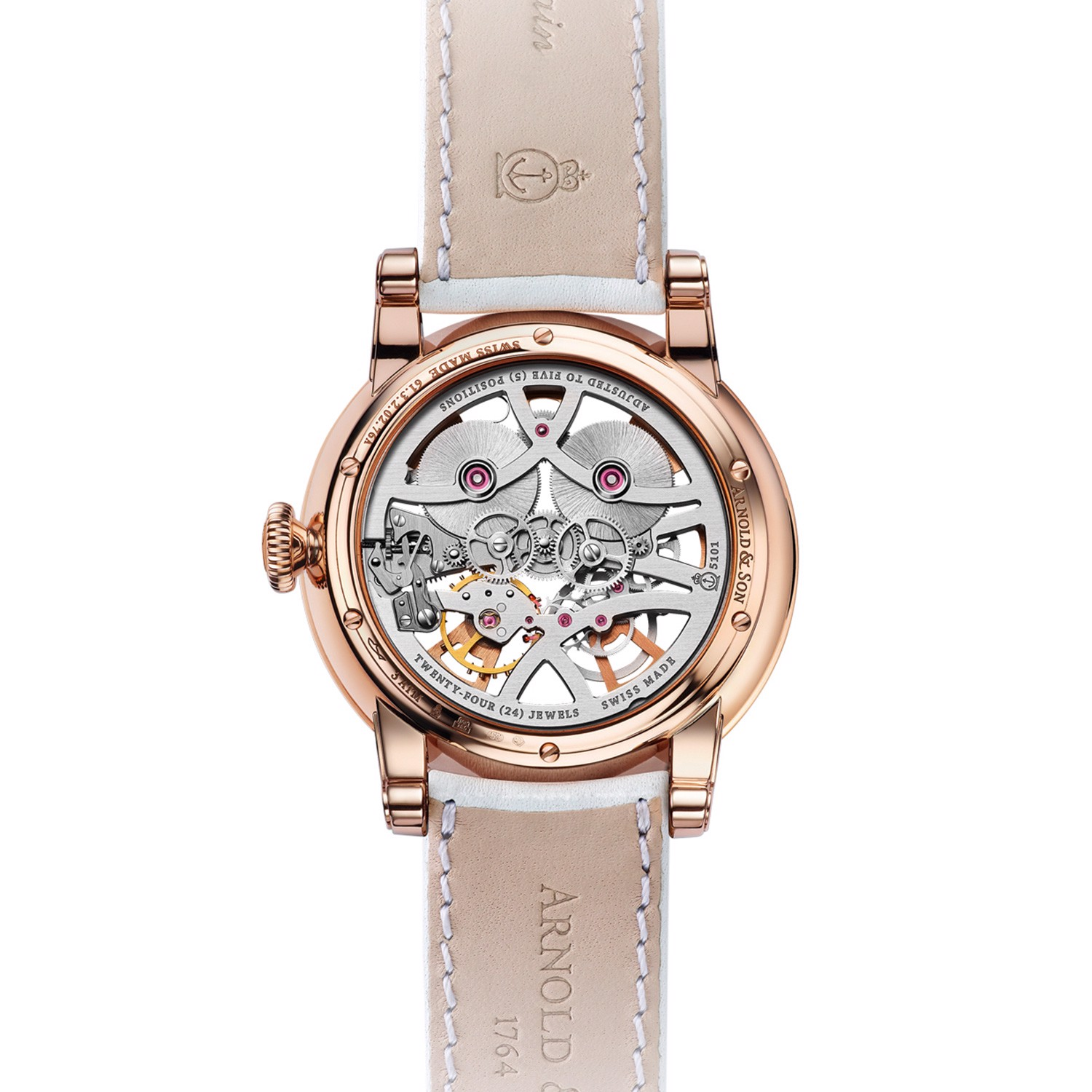Arnold & Son Royal Nebula Lady Rose Gold