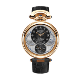 Bovet 19Thirty Fleurier Black Dial 18k Red Gold Black Dial