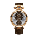 Đồng hồ nam Bovet 19Thirty Fleurier Brown Dial 18k Red Gold 42mm