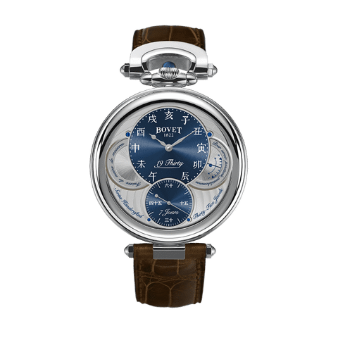 Đồng hồ nam Bovet 19Thirty Fleurier Blue Dial 42mm