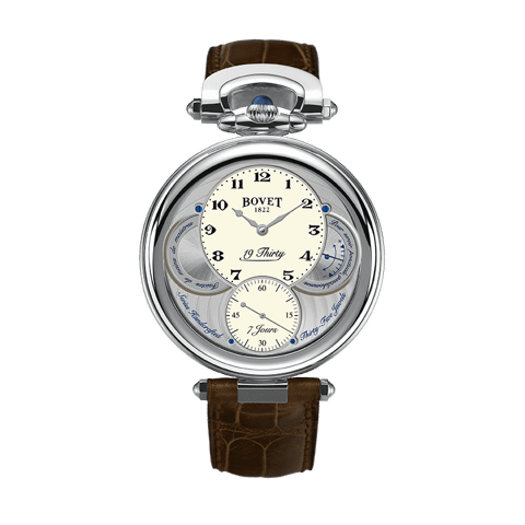 Đồng hồ nam Bovet 19Thirty Fleurier White Dial 42mm