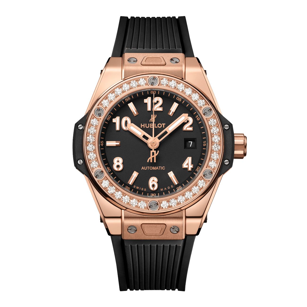 Hublot Big Bang One Click King Gold Diamonds 33mm