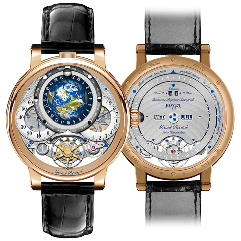 Bovet Récital 22 Grand Récital Rose Gold 46.3mm