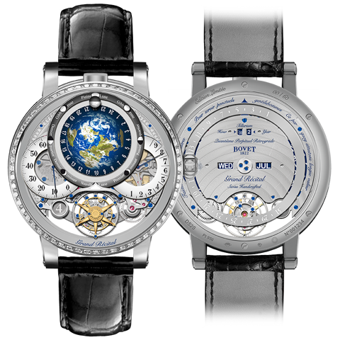 Bovet Récital 22 Grand Récital Platinum Set with Diamonds 46.3mm