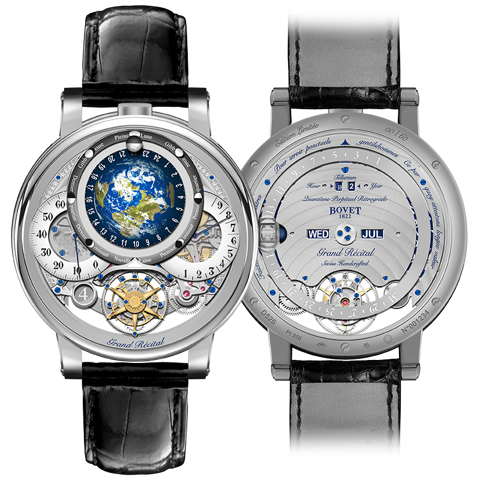 Bovet Récital 22 Grand Récital Platinum 46.3mm