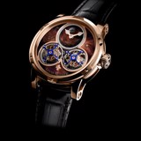 Đồng hồ nam Louis Moinet Sideralis Red Aventurine 18k Rose Gold 47.4mm