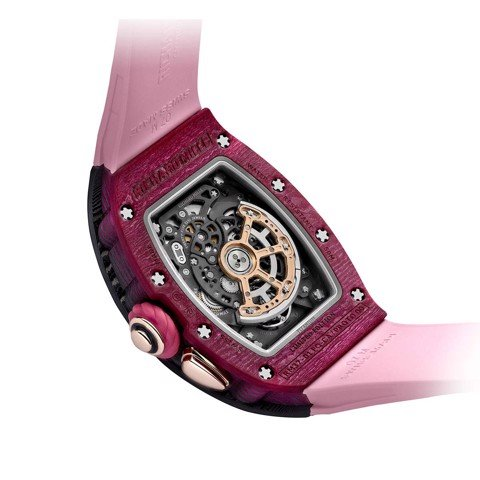 Richard Mille Men Watch Bonbon Collection RM 37-01 CERISE