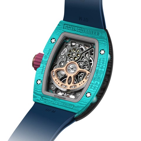 Richard Mille Men Watch Bonbon Collection RM 07-03 MYRTILLE