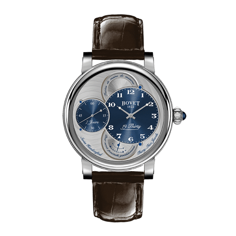 Đồng hồ nam Bovet 19Thirty Dimier Blue Dial 42mm