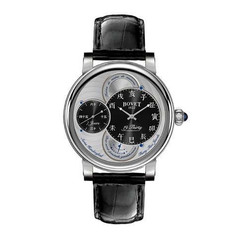 Đồng hồ nam Bovet 19Thirty Dimier Black Dial 42mm