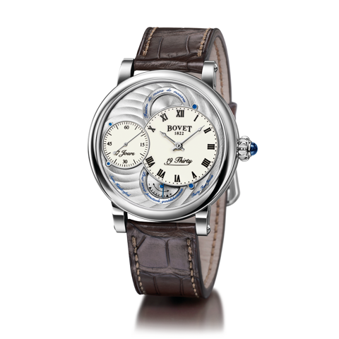 Đồng hồ nam Bovet 19Thirty Dimier White Dial 42mm