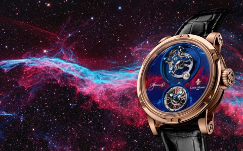 Đồng hồ nam Louis Moinet Spacewalker Rose gold 47.4mm